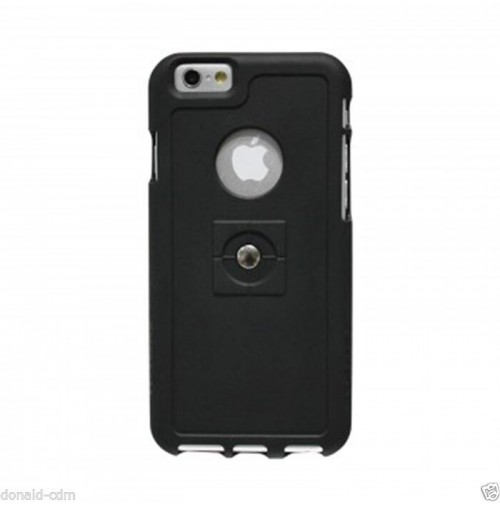 TETRAX, XCASE per APPLE iPHONE 6,NERO, custodia con magnete integrato