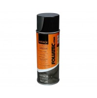 VERNICE PER INTERNI FOLLIATEC INTERIOR COLOR SPRAY NERO LUCIDO 400ML,PELLE ECC.