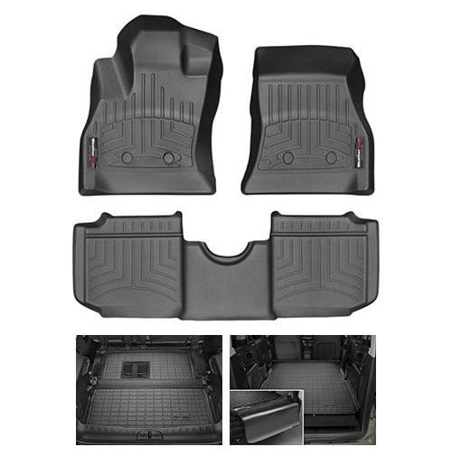WEATHERTECH TAPPETINI AUTO SU MISURA FIAT 500L (2012->) - CAMBIO AUTOMATICO