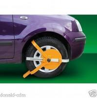 Wheel Clamp, ganascia immobilizza-veicolo,antifurto auto,carrelli,roulotte