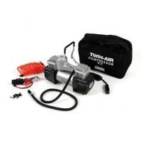 compressore bicilindrico, 12V - 200W 45 litri/minuto,massimo 7 bar,compatto new